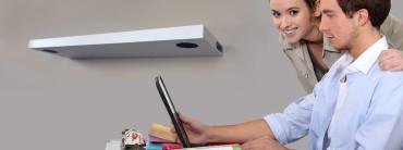 bluetooth wireless speaker shelf